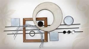 Decoration Murale Design : d coration murale en fer et en acier pour un style rustique ~ Teatrodelosmanantiales.com Idées de Décoration