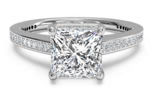 wedding ring cuts princess cut engagement rings a cut worth considering ipunya