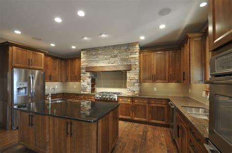 maple cognac kitchen cabinets custom kraftmaid kitchen sedona maple cognac color 7346