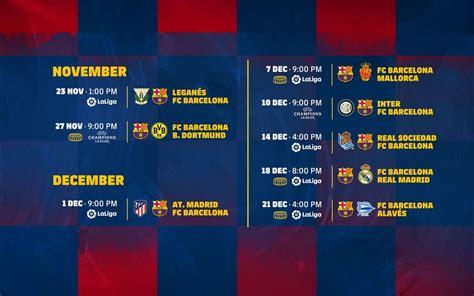 citsonga la liga fixtures january