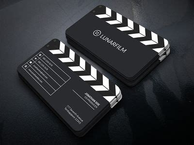 film clipperboard business card  images business