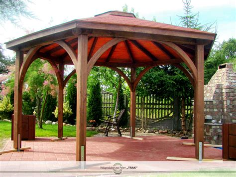 pavillon holz aus polen pavillon aus holz projekte1 003 carports aus polen