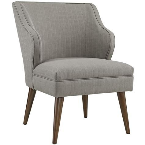 Modern Fabric Armchair by Swell Modern Fabric Upholstered Armchair With Dowel Wood