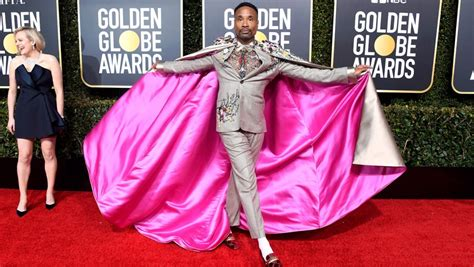 Billy Porter Ott Golden Globes Ensemble Took Months