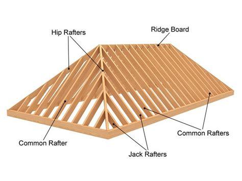 hip roof framing  building aframe cabins pinterest building