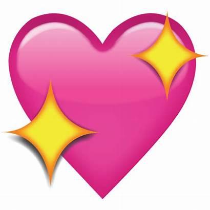 Emoji Heart Sparkling