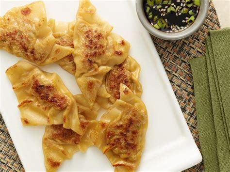 perfect potstickers recipe alton brown food network
