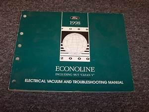 1998 Ford Econoline E150 E250 E350 Van Electrical Wiring