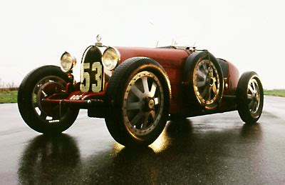 1926 Bugatti Type 35 - Milestones