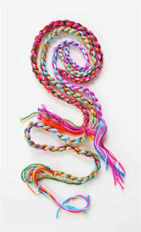 yarn rope allfreekidscraftscom