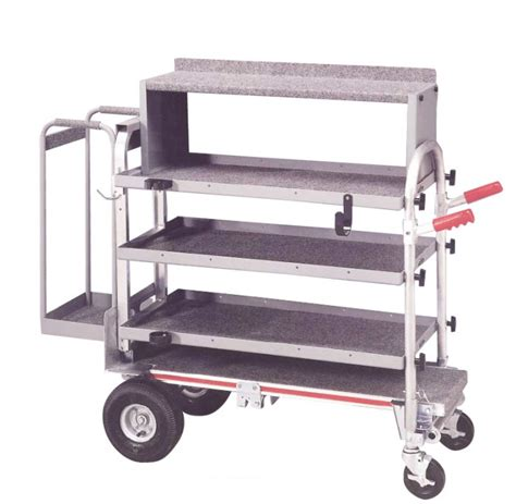 folding food tray magliner production trolley trolleys storage safety
