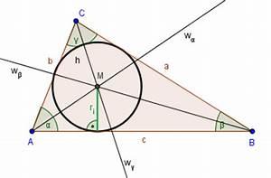 Inkreis Dreieck Berechnen : inkreismittelpunkt ~ Themetempest.com Abrechnung