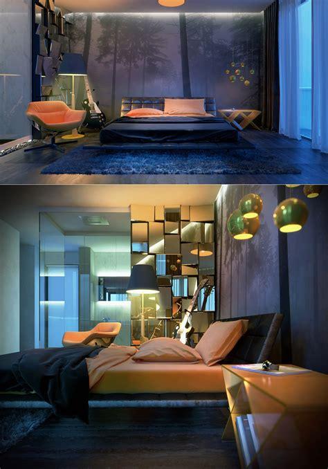 bachelor bedroom design interior design ideas