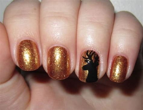 20+ Cool Reindeer Nail Art Designs, Ideas, Trends