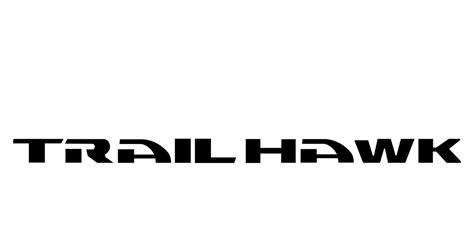 trailhawk jeep logo jeep cherokee trail hawk logo vector format cdr ai eps