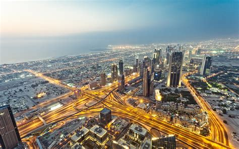 View From Burj Khalifa Dubai Wallpapers