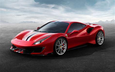 Herunterladen Hintergrundbild Ferrari 488 Pista, 2019, 711