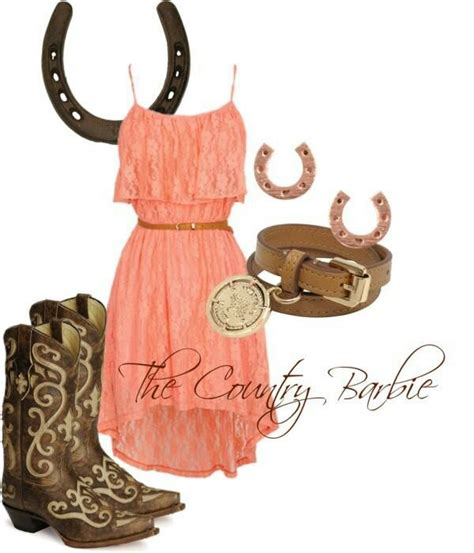 Country Outfits with Cowgirl Boots