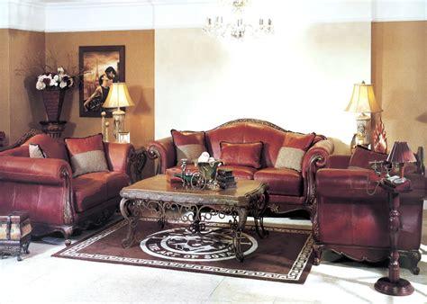 leather living room furniture sofa sets Formal