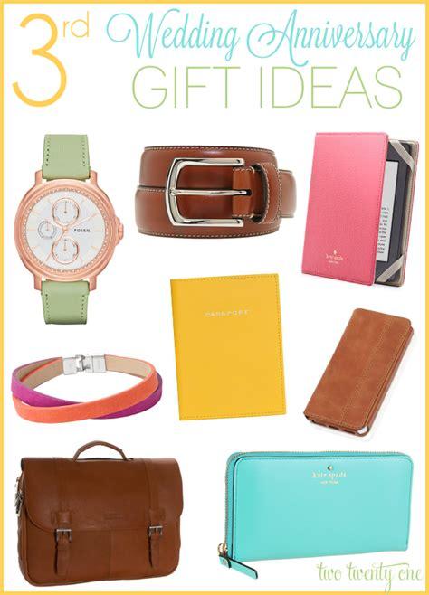 3rd anniversary gift third anniversary gift ideas