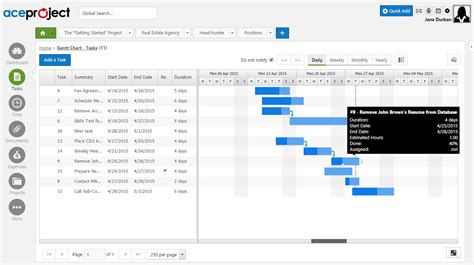 project management software time tracking