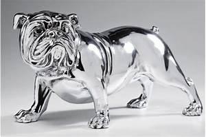 Statue Chien Design : tirelire bouledogue argent ralph tirelire chien tirelire argent e ~ Teatrodelosmanantiales.com Idées de Décoration