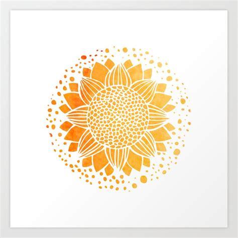 sun mandala art print  serigraphonart society