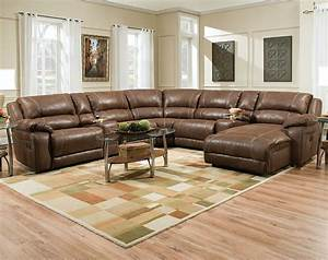 ideas brown leather deep sectional sofa with oval coffee With deep sectional sofas living room furniture