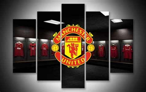 Manchester United Wall Art   Geek Paintings