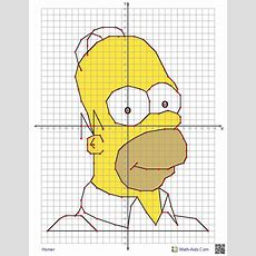 Four Quadrant Graphing Worksheets With Characters The Kids Will Know!  Teaching Pinterest