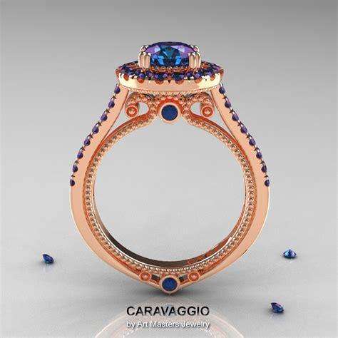 caravaggio 14k gold 1 0 ct russian alexandrite