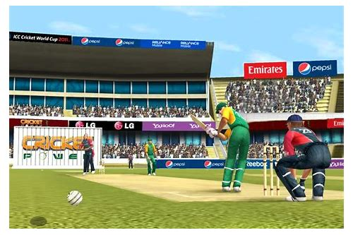 download cricket world cup game 2011