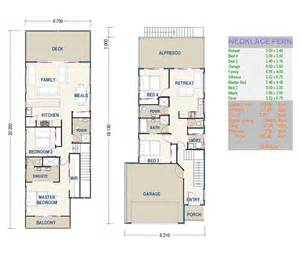 Small Narrow Lot Duplex House Plans