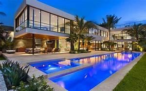 maison de luxe a miami beach floride vivons maison With plan maison de campagne 7 magnifique maison darchitecte en australie vivons maison