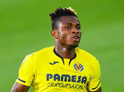 Samuel chukwueze, 22, from nigeria villarreal cf, since 2018 right winger market value: Samuel Chukwueze profile: Villarreal and Nigeria's bright star destined for the Premier League ...