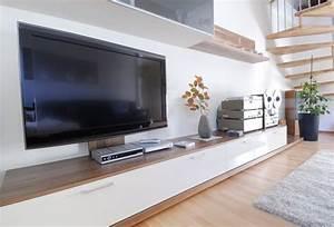Moderne Wohnzimmer Schrankwand : lowboard m bellexikon ~ Markanthonyermac.com Haus und Dekorationen