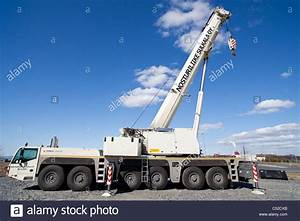 Terex Demag Ac 250-1 Road Mobile Crane Truck Stock Photo  37548067