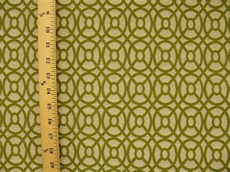 Modern Upholstery by Woven Mid Century Modern Contemporary Geometric Green
