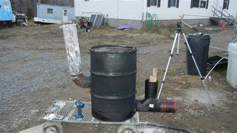 ceramic compost building 6 quot stove pipe rocket stove heater 55 gallon drum