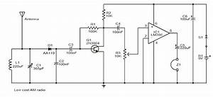 Low Cost Am Direct Coupled Radio Circuit Diagram