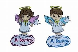 """9 5"""" Fomi de Angel con Halo y Paloma - """"Mi Bautizo"""" (10)"""
