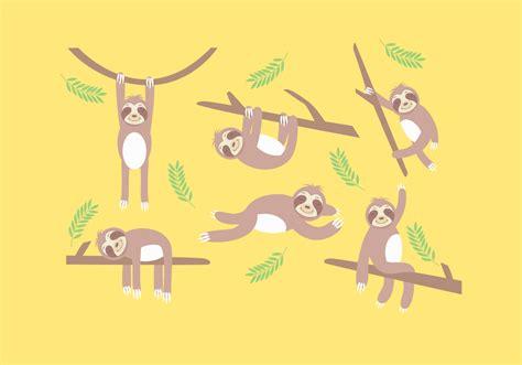 sloth vector   vectors clipart graphics vector art