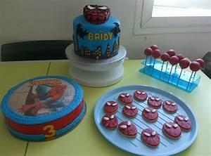 Deco Pate D Amande : anniversaire spiderman lily 39 s bakery ~ Melissatoandfro.com Idées de Décoration