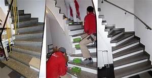 Offene Treppe Schließen Vorher Nachher : renovierung einer steintreppe bei d sseldorf lies renovierung t ren k chen treppen ~ Buech-reservation.com Haus und Dekorationen