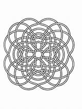 Mandala Mandalas Simple Coloring Print Pages Children Zen Stress Lines Therapy Anti Adult Adults Ribbons Fine Difficult Certainly Allow Passion sketch template