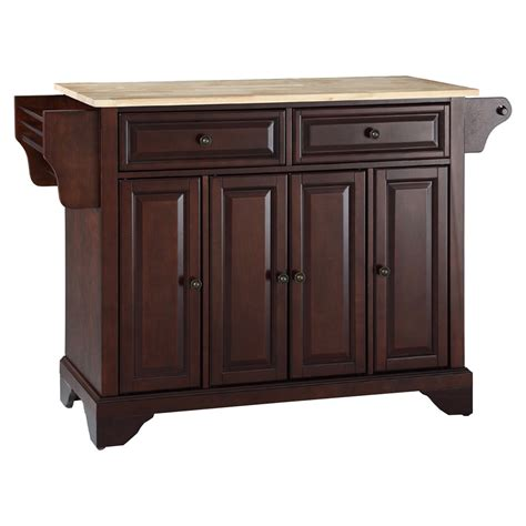 wood top kitchen island lafayette wood top kitchen island vintage