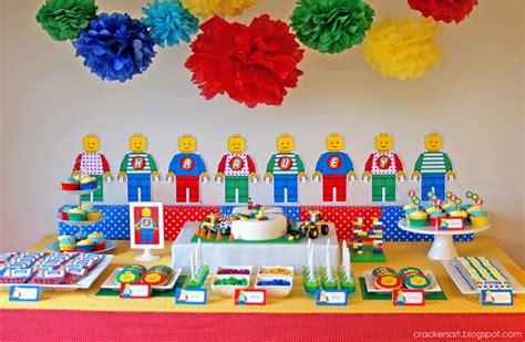 Kara's Party Ideas Lego Themed 5th Birthday Party