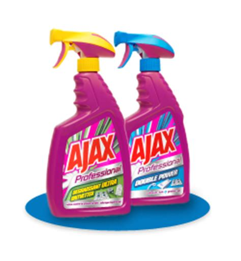 ajax professional bathroom power cleaner msds historia marki ajax