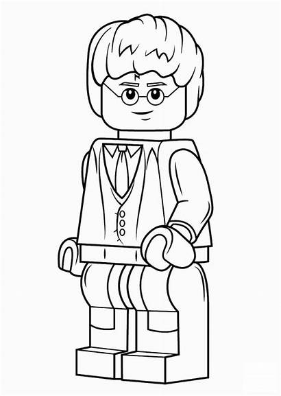 Lego Harry Potter Colorear Dibujos Dibujosparacolorear Clic