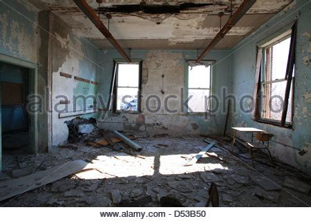 Nursing School In Detroit by Interior Of An Abandoned Nursing School In Detroit